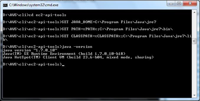 Find Java Version