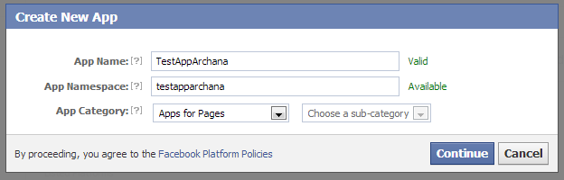 PHP Script for Sharing Message on Facebook