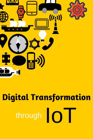 Digital tranformation through IoT