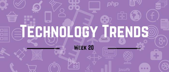 Technology trends week 14 2015