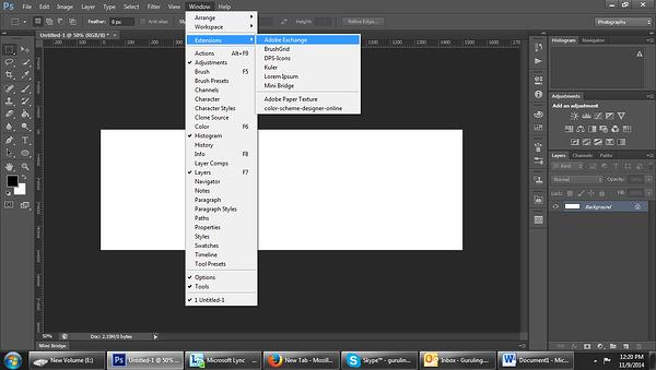 Adobe Exchange