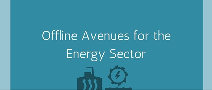 Offline Avenues for the Energy Sector