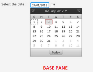 Calendar Control in JavaFX 2.0