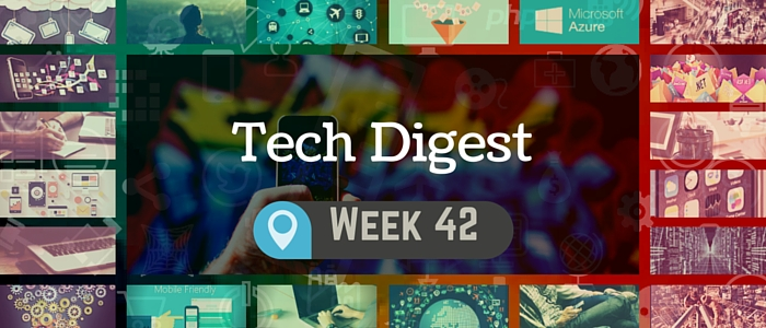 Technology news handpicked for you - Week 42, 2015