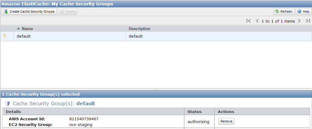EC2 Security Group