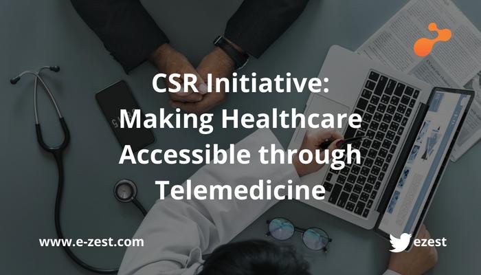 CSR Initiative by e-Zest