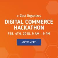 Digital Commerce Hackathon 2018 by e-Zest Solutions