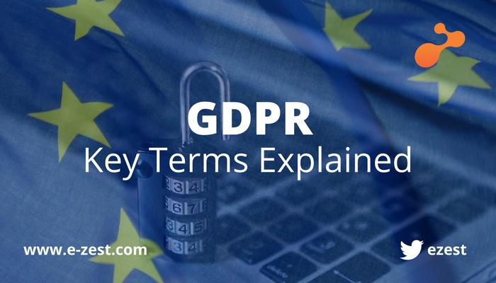 GDPR - Key Terms Explained e-Zest