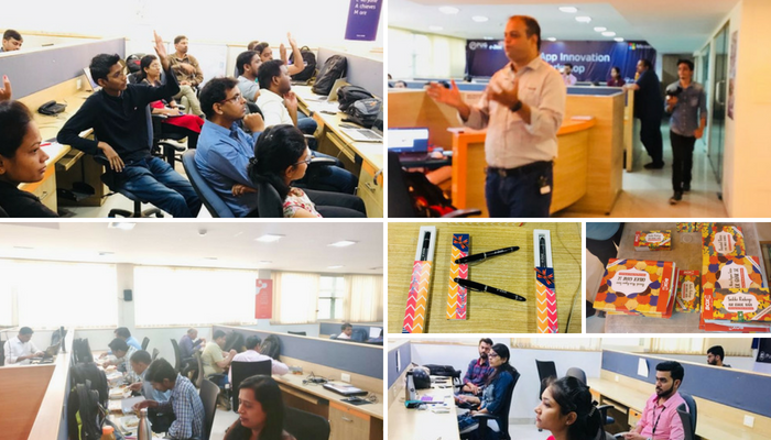 Microsoft organized App Innovation Workshops at e-Zest
