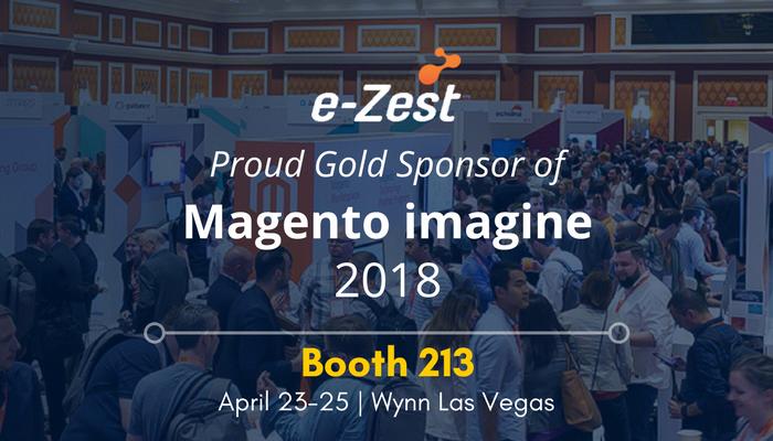 e-Zest, gold sponsor of Magento Imagine 2018