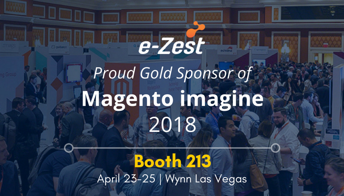 e-Zest, gold sponsor of Magento Imagine 2018