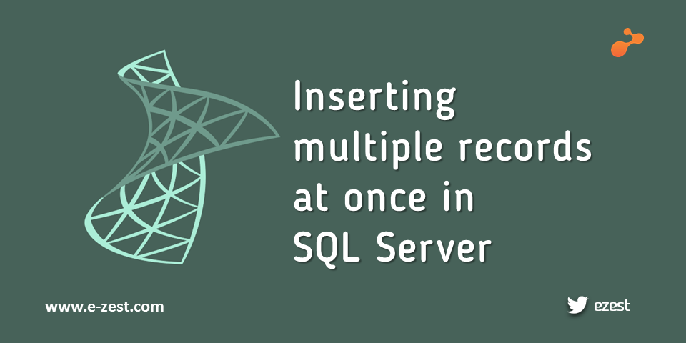 Inserting multiple records simultaneously in a table in SQL Server