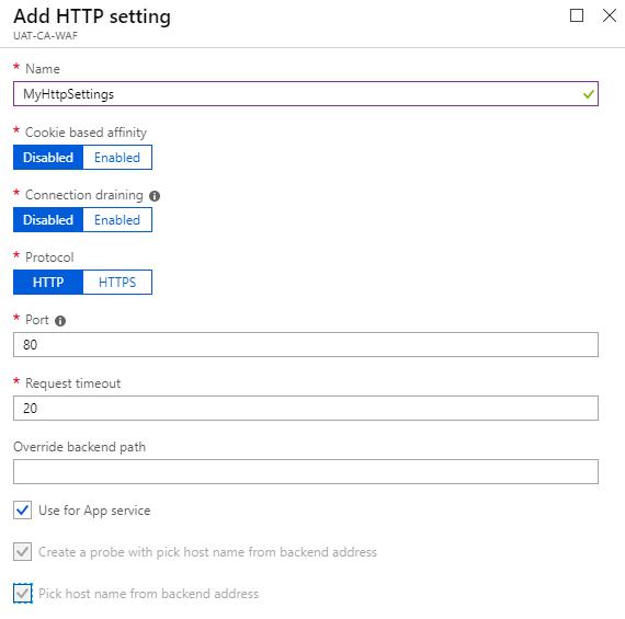 Add HTTP