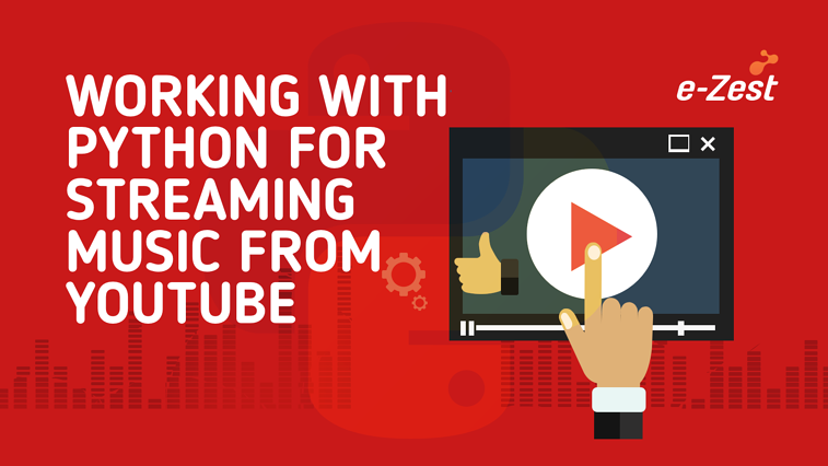 Working with Python for streaming music from YouTube
