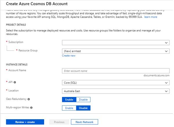 create-azure-cosmos-db-account
