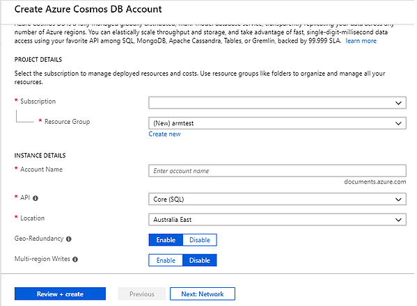 create-azure-cosmos-db-account
