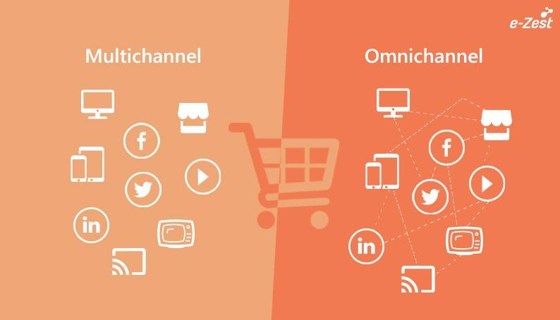 e-Zest Multichannel Vs Omni-channel
