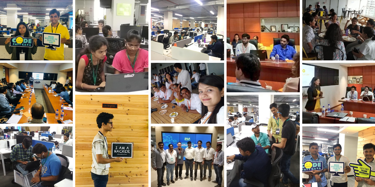 #HackathonPune continues to inspire coders in its third-year