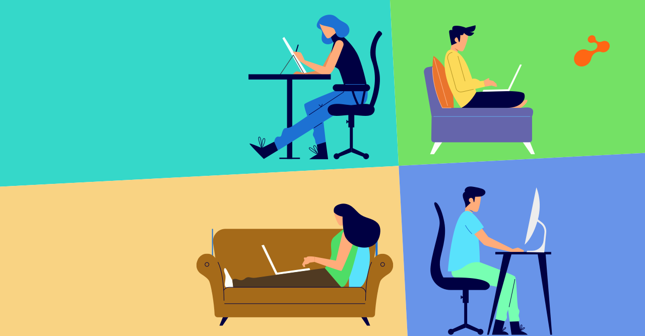 Are you sitting the right way? – The Work From Home Guide to Good Posture