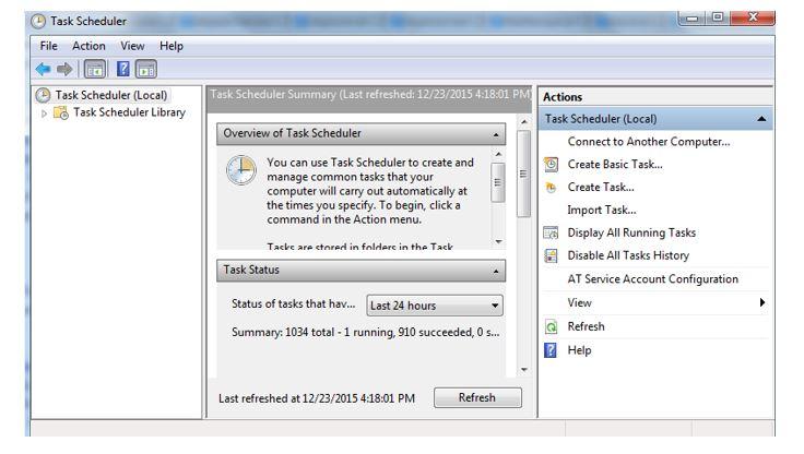 Tutorial: Setting up Cron Job/Task scheduler in Windows