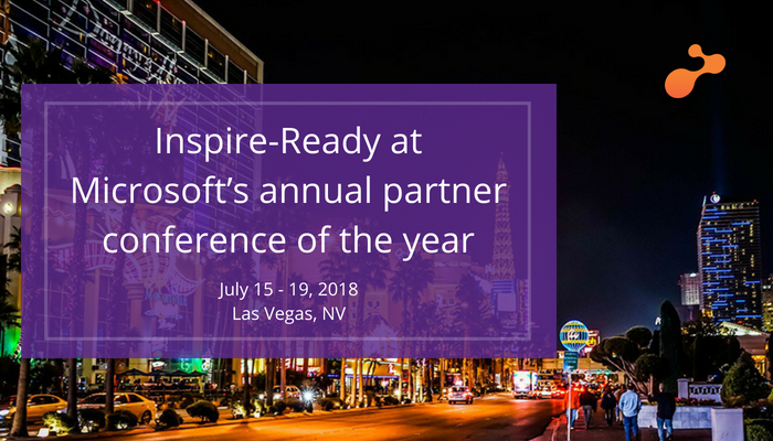 Inspire-Ready at Microsoft's annual partner conference of the year