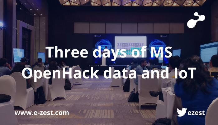 Three days of Microsoft OpenHack data and IoT