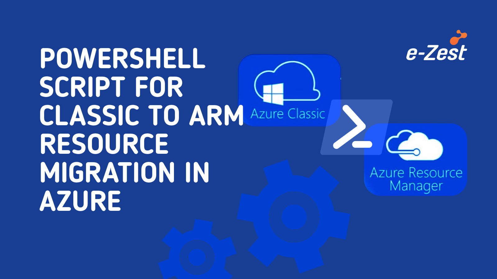 PowerShell Script for migrating Azure Classic to Azure Resource Manager