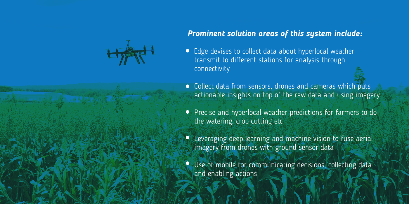 Data-driven agriculture for efficiency and yield