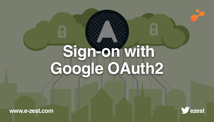 Sign-on with Google OAuth2
