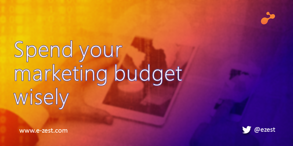 Spend your marketing budget wisely