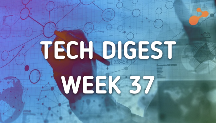 Technology stories you must not miss: Week 37, 2017