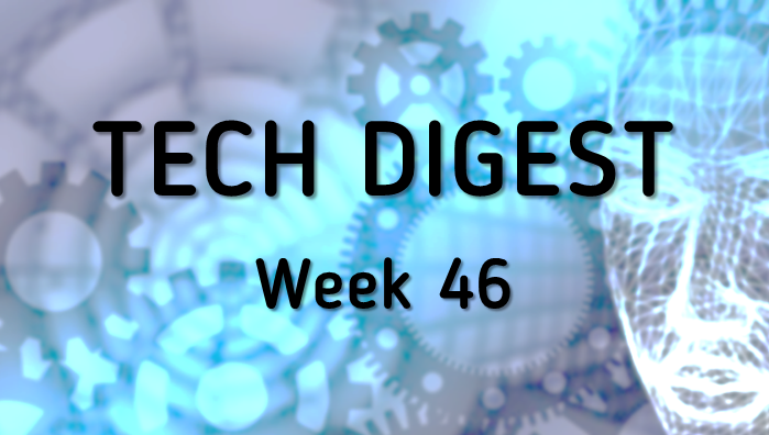 Tech stories handpicked for you - Week 46, 2016