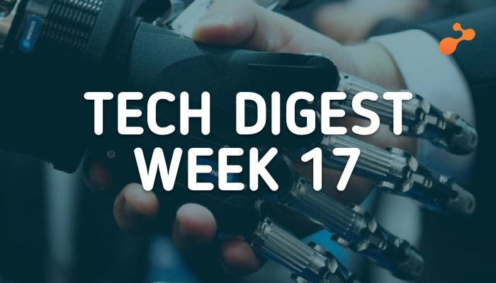Technology stories handpicked for you- Week 17, 2018