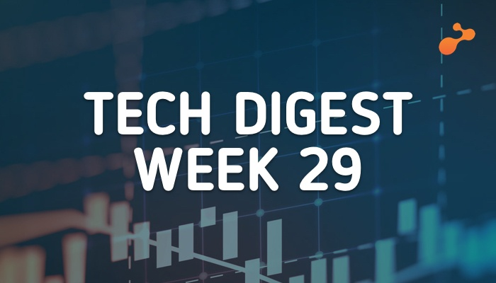 Tech stories handpicked for you- Week 29, 2018