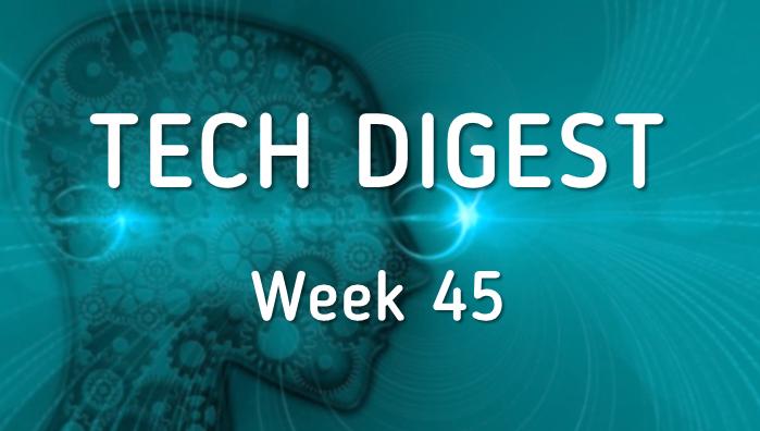 Tech stories making news – Week 45, 2016