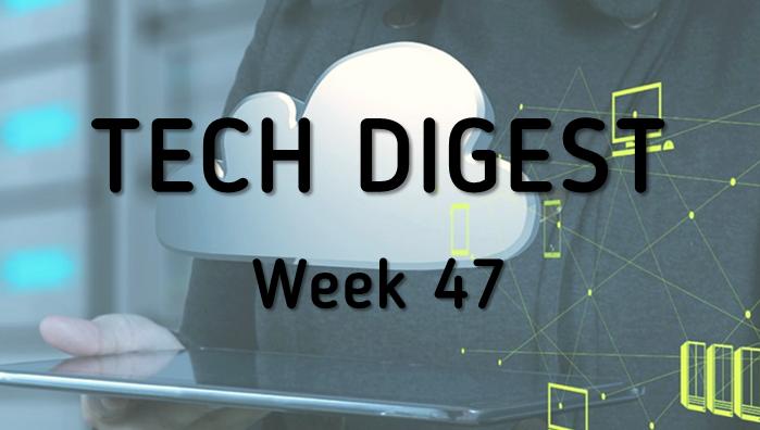Tech story roundup - Week 47, 2016