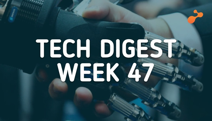 Tech Stories Handpicked for you- Week 47, 2018