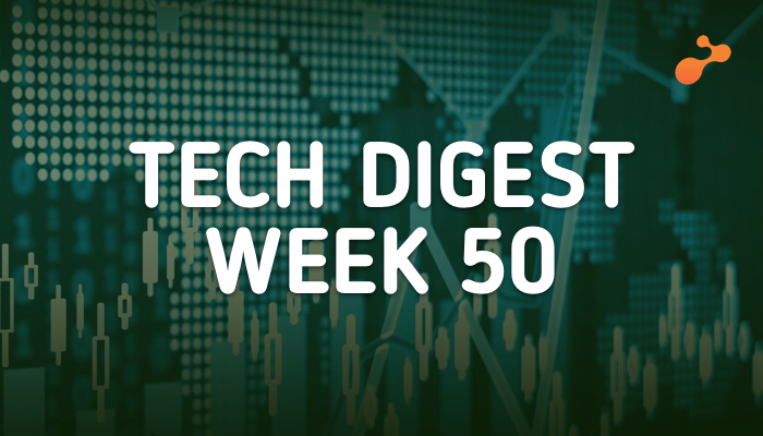 Tech news doing the rounds - Week 50, 2018