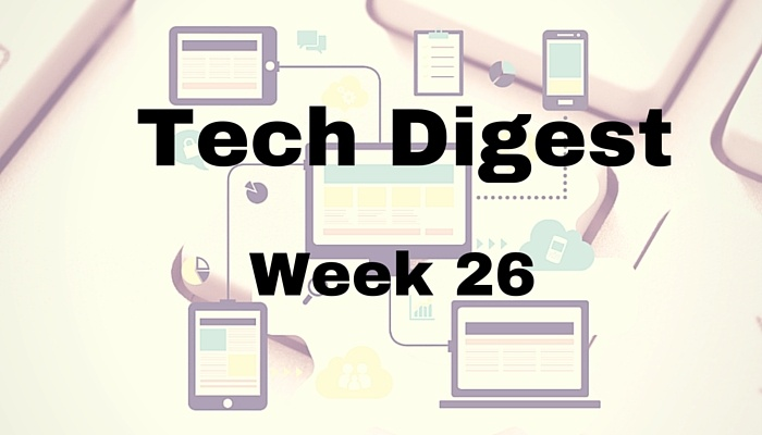 Tech Stories making the rounds - Week 26, 2016