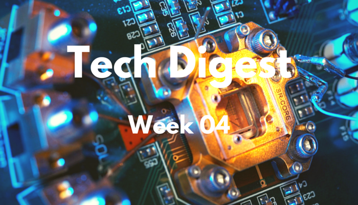 Technology stories you cannot miss – Week 4, 2016