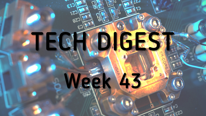 Technology stories you cannot miss – Week 43, 2016