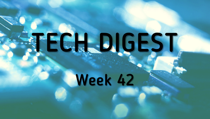 Tech story roundup - Week 42, 2016