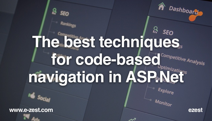 Techniques for code-based navigation in ASP.Net