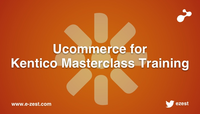 Ucommerce for Kentico Masterclass Training