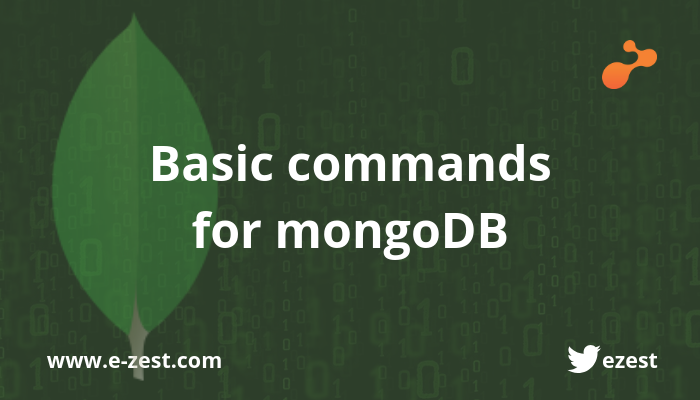 Basic commands for mongoDB