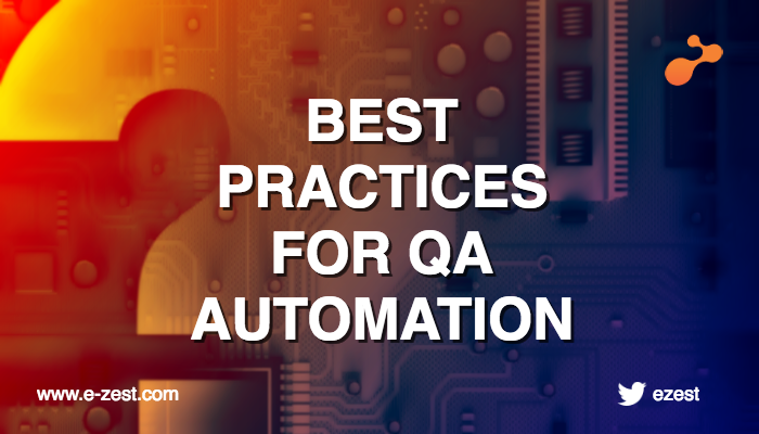 Best Practices for QA Automation