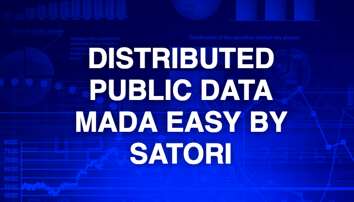 Distributed public data made easy by Satori
