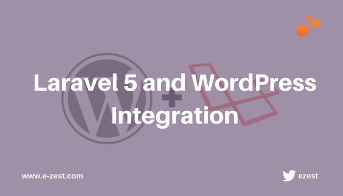 Laravel 5 and WordPress Integration