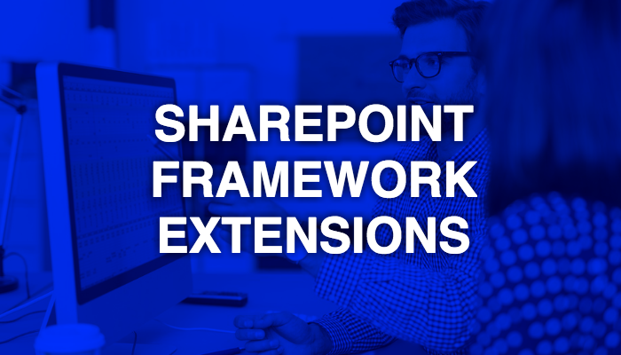 First look of SharePoint Framework Extensions