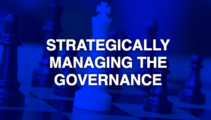 Strategically managing the governance